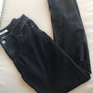 D.Jeans | Black distressed skinny jeans